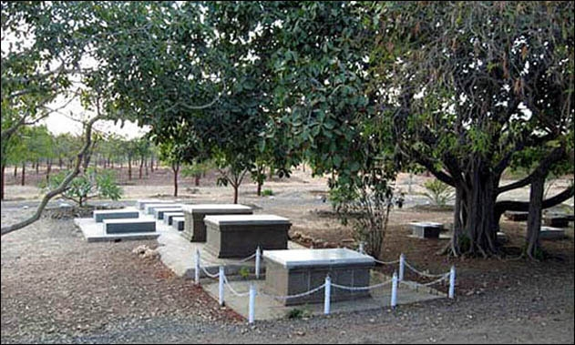 Women's Graves West of the Samadhi