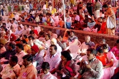 Crowd at Amartithi