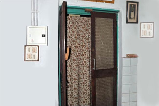 Pendu's room entrance