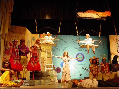 Scene from Birthday Play