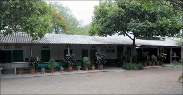 Mandali Hall verandah